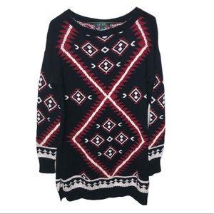 Lauren Ralph Lauren Southwest/Aztec Style Pullover